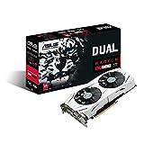 #6: ASUS Dual-Fan Radeon Rx 480 4GB OC Edition AMD Gaming Graphics Card with DP 1.4 HDMI 2.0 DUAL-RX480-O4G DUAL 4GB