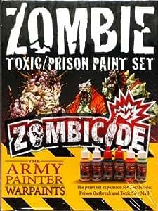 The Army Painter: Zombicide Toxic/Prison Paint Set