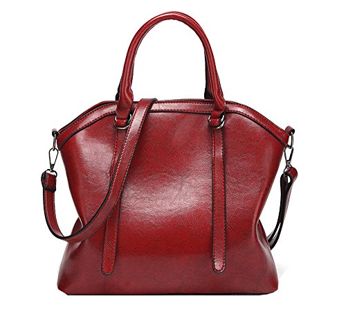 Anne, Borsa tote donna nero Red Wine Red Wine