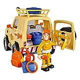 Feuerwehrmann Sam - Fahrzeug Tom's 4x4 Geländewagen mit Licht & Figur Sam Vergleich