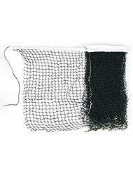 sourcingmap® Longueur: 6 m Blanc/vert en Nylon tressé filet de Badminton, filet d'entraînement