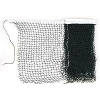 6M Longitud Adorno Blanco Nylon Trenzado Malla Verde Entrenamiento De Badminton Net
