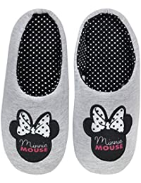 Disney Minnie Mouse Womens Slippers