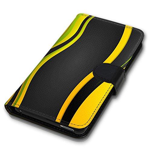 Wallet Book Style Flip Handy Tasche Case Schutz Hülle Schale Motiv Etui für Apple iPhone 6 Plus / 6S Plus - Variante UMV16 Design12 Design 5