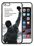 Gory iPhone 7 Plus hülle,Rocky Balboa Motivational Words Schwarz iPhone 7 Plus 7.7 Zolles Cover hülle,Handyhülle Telefonkasten SchutzHülle