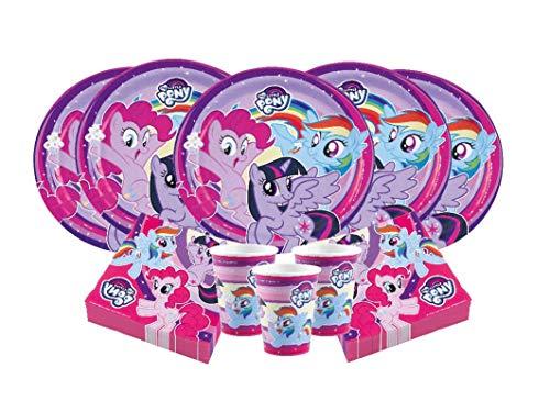 Ana Banana Paris Kit Anniversaire My Little Pony™ pour 8 Personnes (36 pièces)