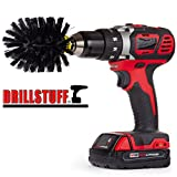 Grill Brush - Grill Accessories - BBQ Accessories - Gas Grill - Electric Smoker - Grill Cleaner - BBQ Brush - Grill Scraper - Grease - Smokers and Grills - Drill Brush - Grill Tools - Rust Remover