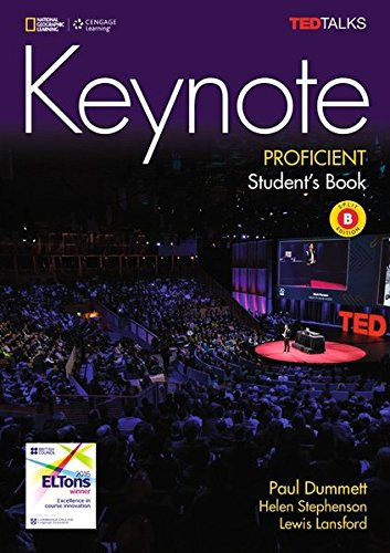 Keynote C2.1/C2.2: Proficient - Student's Book (Split Edition B) + DVD: Unit 7-12 por Paul Dummett