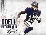 777 Tri-Seven Entertainment Odell Beckham Jr New York Giants Poster Kunstdruck (24x 18), 61x 45,7cm