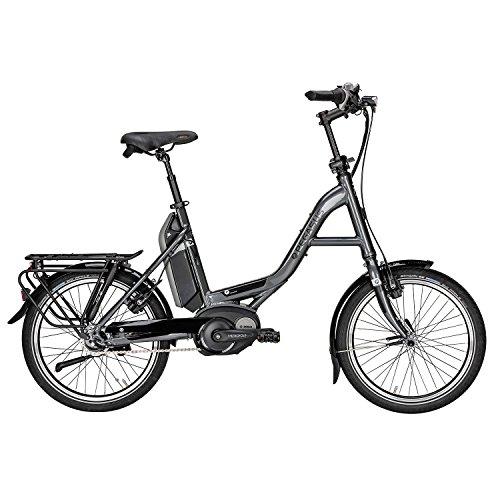 Pegasus E-Swing E8 R 20 400Wh E-Bike Pedelec 2016, Farbe:Grau;Rahmenhöhe:46 cm