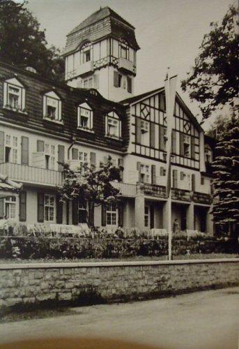 Ferienheim der IG Wismut ' Am Goldberg ' Blankenburg / Thür. ( gelaufen )