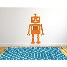 Gran Robot pared vinilo adhesivo infantil para el hogar