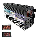Lvyuan 2018 NEW 2000W (4000W Peak) POWER INVERTER DC TO AC 12V TO