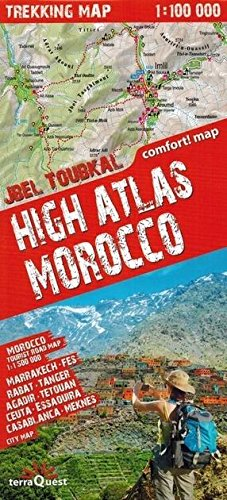 High Atlas Morocco : 1/100 000