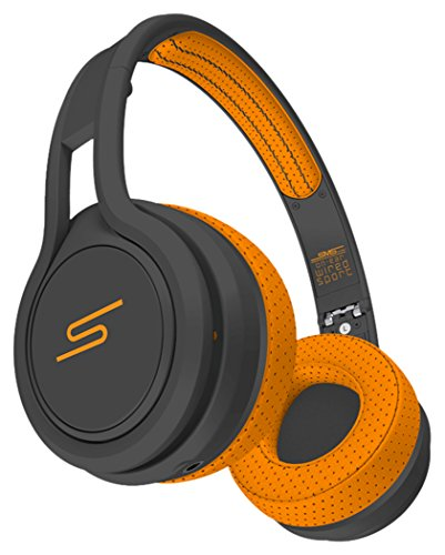 Street-kopfhörer Sms (SMS Audio STREET by 50Cent Wired On-Ear Sport Kopfhörer, Orange)