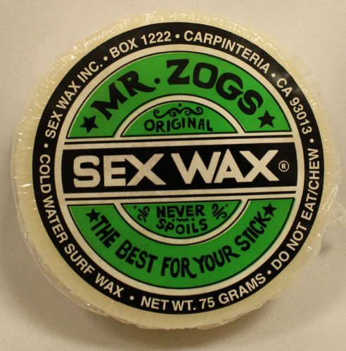 Mr. Zogs Original Sexwax - Cold Water Temperature Mixed Scent (Randomly Scent) by Mr Zogs
