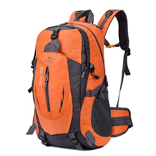 LWJgsa Neue Ultraleicht - Outdoor - Bergsteigen - Taschen Männer Und Frauen Schultern Modestudenten Taschen Computer - Taschen Orange