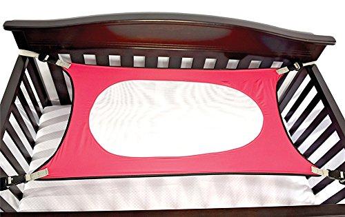 tte Sicherheits Einstellbares Neugeborenes Bett Nestchen(2-12 Monate),pink ()