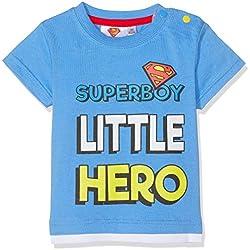Superman - T-Shirt manches courtes Bébé garçon - Bleu - 12 mois