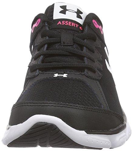 Under Armour Ua W Micro G Assert 6, Chaussures de Course Femme Noir (Black)