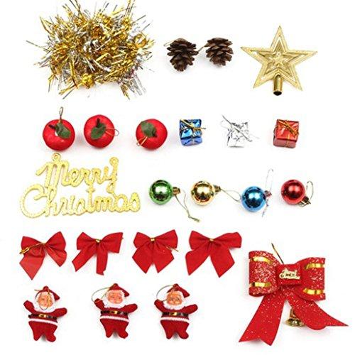 Zolimx 23PC buntes kleines hängendes Sankt Geschenk Box Ball Weihnachtsbaum (Kleinkinder Ein Art Einer Für Von Kostüme Halloween)