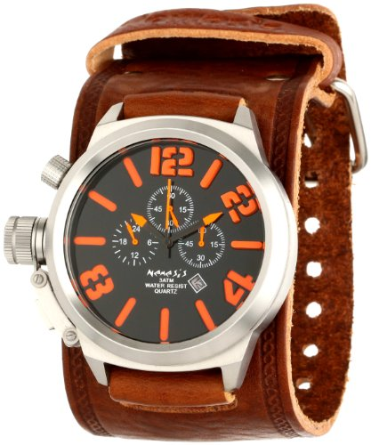 Nemesis Men's BKIN088KN Brown Collection Chronograph Limited Edition Watch