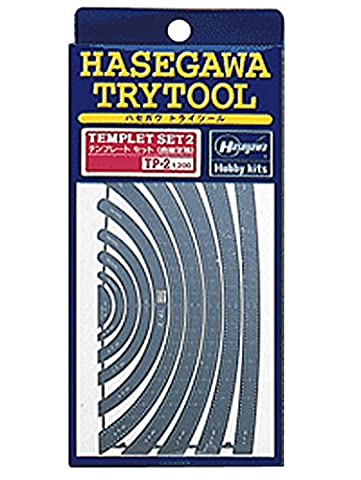 2 template curve ruler (TP2)yJapanese plastic modelz