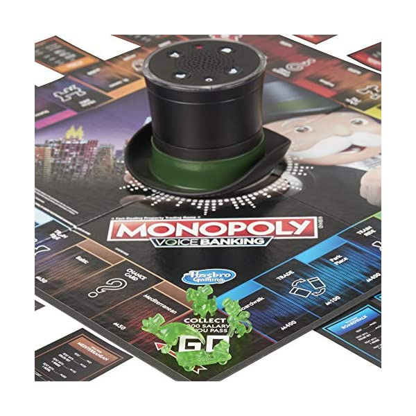 Hasbro Monopoly - Voice Banking (Gioco in Scatola Elettronico) 5 spesavip