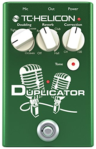 TC Helicon duplicatore Stompbox - verde