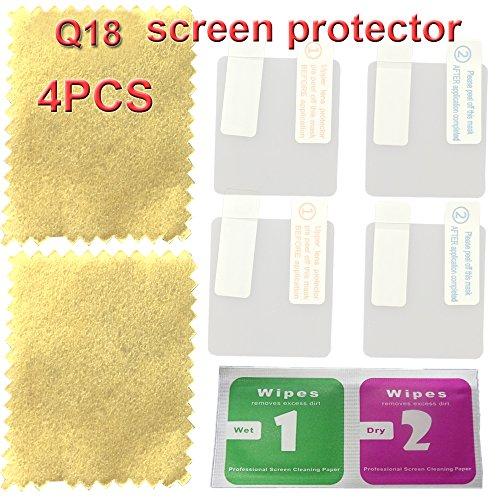 Protector pantalla reloj inteligente Q18 4PCS paquete