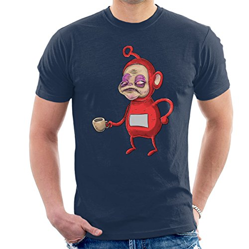 Teletubbies Po Before Coffee Funny T-shirt for Men - 3 colours - S to 2XL