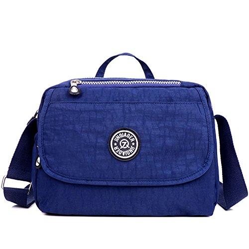 Outreo Handtasche Damen Umhängetasche Wasserdicht Schultertasche Leicht Kuriertasche Lässige Reisetasche Design Taschen Mode Büchertasche für Mädchen Sporttasche