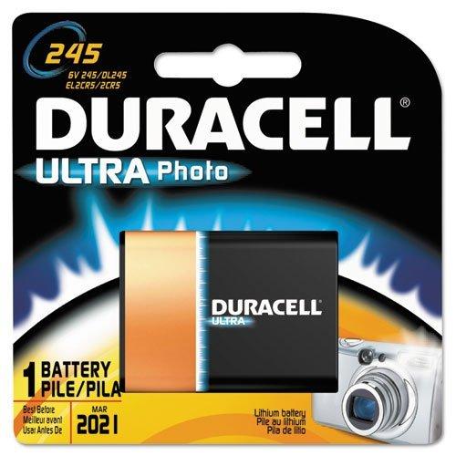 Duracell - Ultra High Power Lithium Battery, 245, 6V DL245BPK (DMi EA by Duracell Ea Duracell