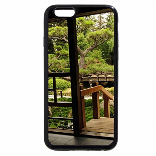 iPhone 6S / iPhone 6 Case (Black) Tea House Window