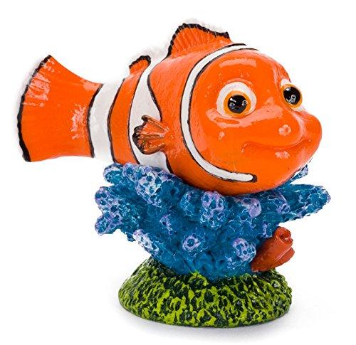Penn-Plax findet Nemo Nemo der Welt und Coral Ornament für Aquarium, 4,2cm -