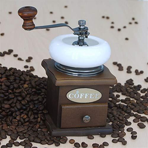 Manuelle Kaffeemühlen Manual Coffee Grinders Retro Holz Manuelle Kaffeemühle Barista Werkzeuge...