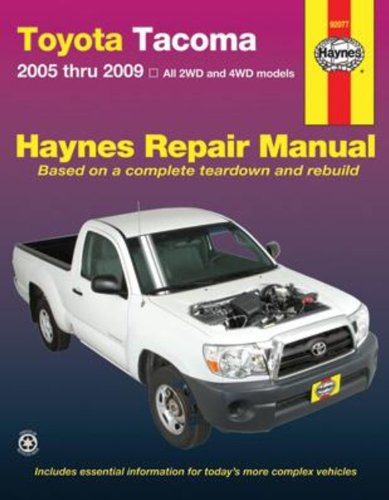 toyota-tacoma-automotive-repair-manual-2005-2009-2wd-and-4wd-toyota-tacoma-2005-through-2009