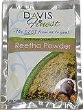 Davis Finest Premium Reetha Aritha Waschnuss Pulver 100% Pur Natur Früchte Chemisch Parabene Konservierungsmittel SLS frei Natürliche Seife und Shampoo Blätter Reinigen Der Haut Haar Kopfhaut