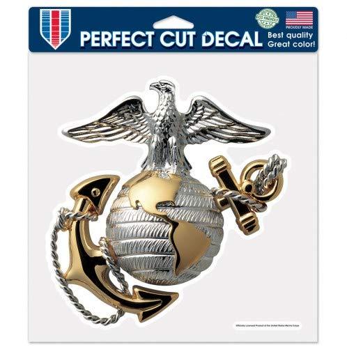 Wincraft United States Marines Aufkleber 20,3 x 20,3 cm, gestanzt - Marine-magnet