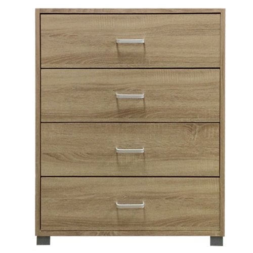 Lyon 4 Drawer Chest - Sonoma oak effect6017