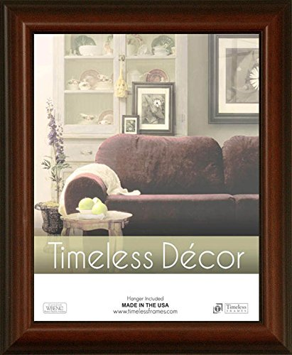 Zeitloses Expressions Huntley Wand Rahmen, 27,9x 35,6cm Walnuss -