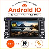 ZLTOOPAI Android 10 Auto DVD Player für Toyota Land Cruiser 100 200 Prado 120 150 Rush Corolla Hiace Yaris Hilux Stereo Auto GPS Navigation Media Player Double DIN Head Unit mit IPS DSP