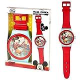 Disney Wanduhr Micky | Kinderzimmer Uhr | 92 cm Micky Maus