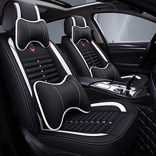 YRRC Coprisedili per auto universale in lino (anteriore e posteriore) per Mini Tutti i modelli Cooper Countryman Cooper Paceman Car Styling Accessori auto,B