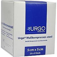 URGO MULLKOMPRESSEN 5x5 cm steril 50 St Kompressen preisvergleich bei billige-tabletten.eu