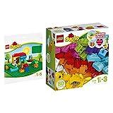 Lego DUPLO 2er Set 10848 2304 Meine ersten Bausteine + Bauplatte, grün