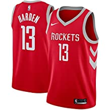 CCNBA Houston Rockets James-Harden 13 Swingman Men Jersey (Rojo, S)