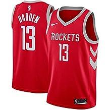 CCNBA Houston Rockets James-Harden 13 Swingman Men Jersey (Rojo, S)