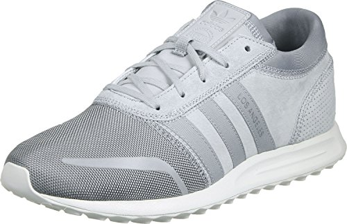 adidas Los Angeles, Baskets Basses Homme, Taille Unique gris blanc