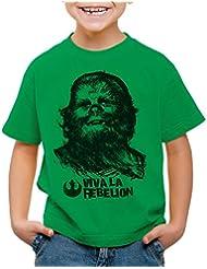style3 Viva La Rebelion Camiseta para Niños T-Shirt guevara revolución guevara revolución